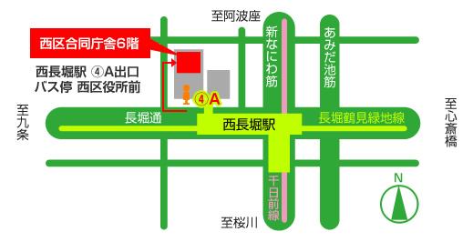 センター周辺地図